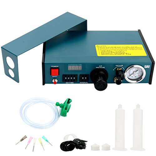 Digital Display Auto Glue Dispenser Solder Paste Liquid Controller Dropper 983A