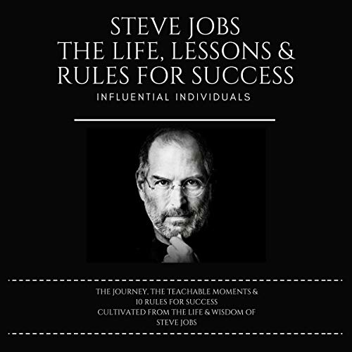 『Steve Jobs: The Life, Lessons & Rules for Success』のカバーアート