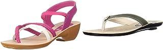 PARAGON Women's Pink Fashion Sandals-7 UK/India (41 EU) (PU50015LP)