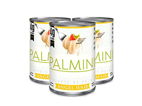 Palmini Low Carb Angel Hair | 4g of Carbs | As Seen On Shark Tank | Gluten Free (14 Ounce - Pack of 3)