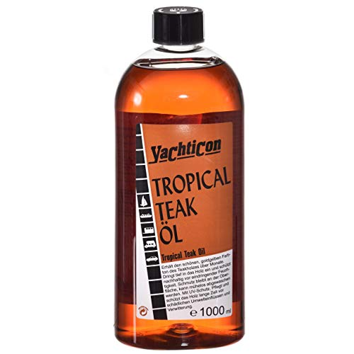 YACHTICON Tropical Teak Öl 1 Liter