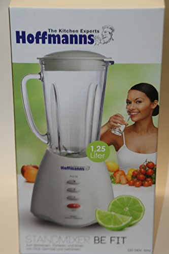 Standmixer 1,25 liter Glaskaraffe -Be Fit - Hoffmann- The Kitchen Experts-