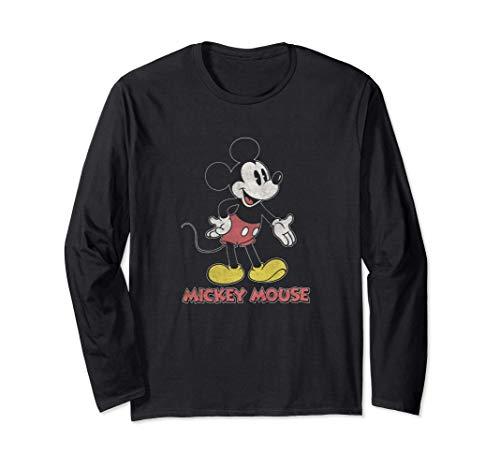 Disney Mickey Transparent Standing Body Manga Larga
