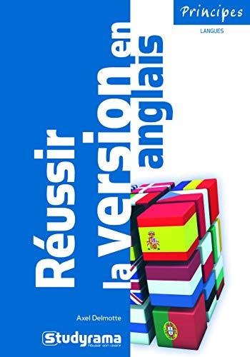 Réussir la version en anglais PDF Books