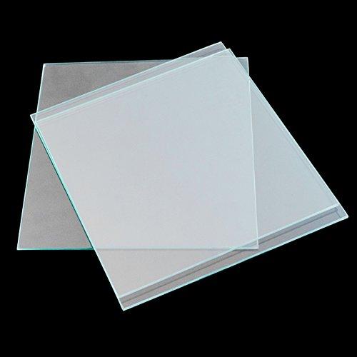 3D Drucker Reprap MK2 Heizbett Borosilikatglasplatte Größe 213 * 200 * 3mm gehärtet