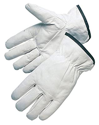 Liberty Quality Grain Goatskin Leather Driver Glove with Keystone Thumb