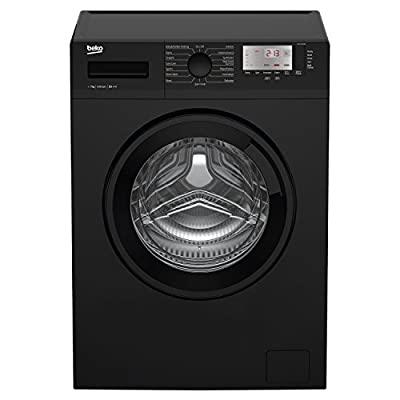 Beko WTG721M1B A+++ Rated 7kg 1200 Spin 15 Programmes Washing Machine in Black