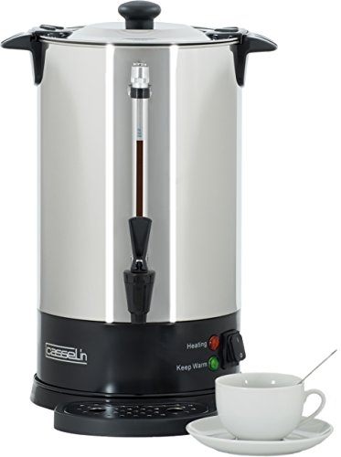 Casselin cpc60s percolador de café 60tazas SP, acero inoxidable