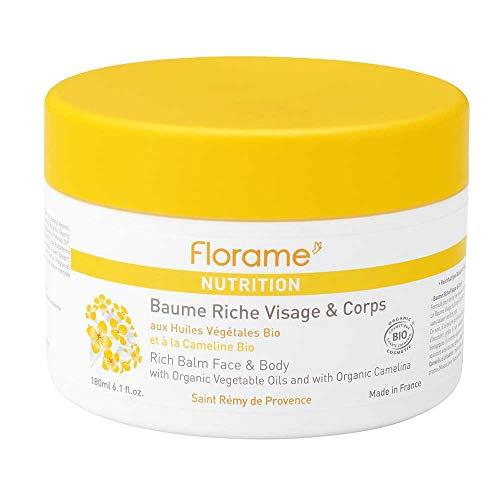 Florame Beurre pour visage et corps nutritif 180 ml 1 flacon de 180 ml.