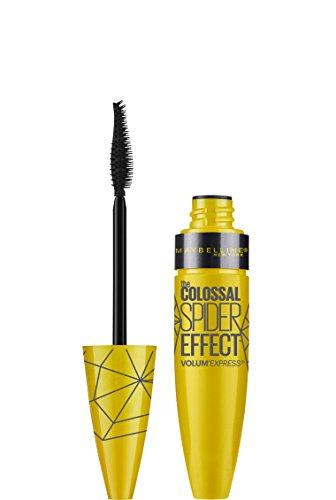 MAYBELLINE Volum' Express The Colossal Spider Effect Washable Mascara - Glam Black