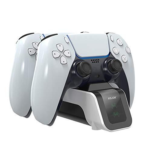 Lilon Adecuado para la base de carga rápida de PS5 para accesorios de gamepad de PS5.