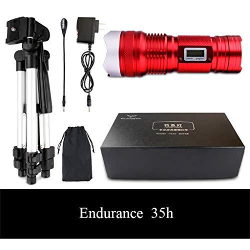 Langdurig licht, vislicht, projector, nachtlampje, camping, super glanzend, multifunctioneel, lantaarns met lange afstand, gemakkelijk te bedienen, met statief