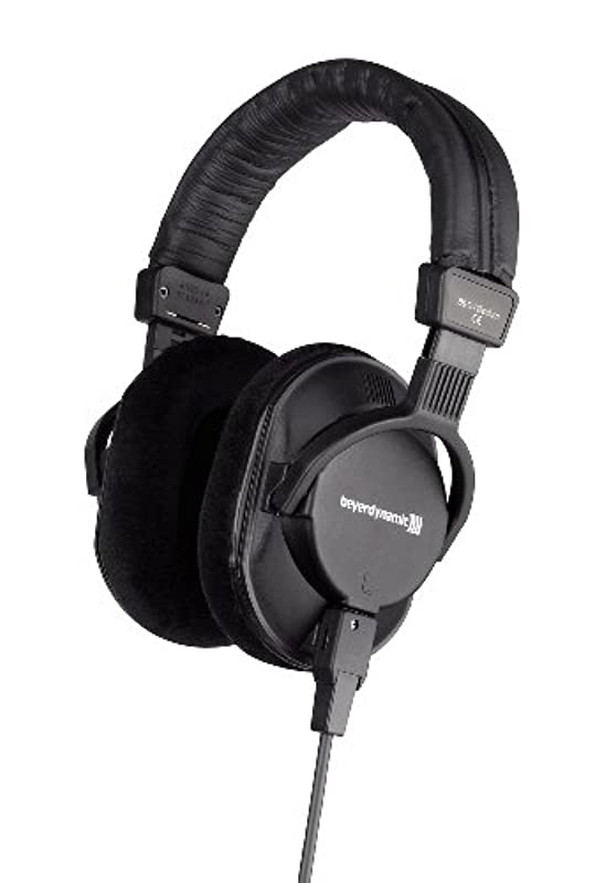 beyerdynamic 밀폐형 오버헤드 헤드폰 스튜디오용 DT 250