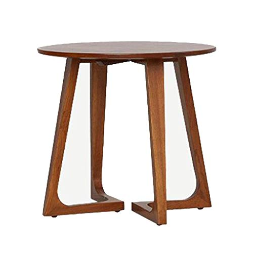 Xu-table massief houten cirkel koffietafel, Bar Mini Corner bijzettafel, sofa schilderij drank eettafel, Nieuwjaar