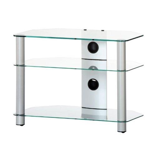 RO&CO - Mueble TV. Ancho 70 cms. 3 estantes. Vidrio