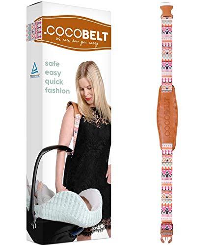Cocobelt Tragegurt für Babyschalen aller Marken (Aztek)