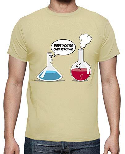 tostadora - T-Shirt uber Reactin - Manner Creme XL