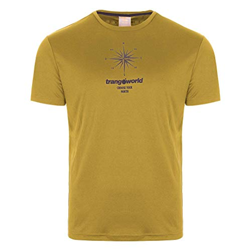 Trangoworld Arga T-Shirt pour Homme XL Jaune Moutarde