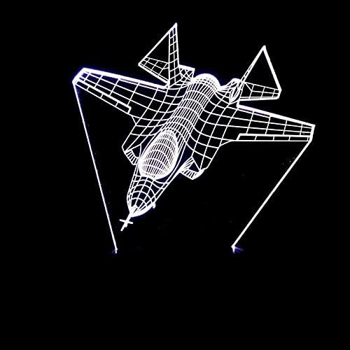 Mu Mianhua Lámpara de Mesa Luz LED Estéreo 3D Gradiente de Color Atmosférico Toque Remoto USB Luz Nocturna Mesilla de Noche Imaginativa Navidad Cumpleaños Regalo 20 * 13cm