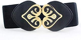 YouBella Jewellery Celebrity Inspired Adjustable Kamarband Waist Belt for Women/Girls (YB_Belt_29) (Black), Large