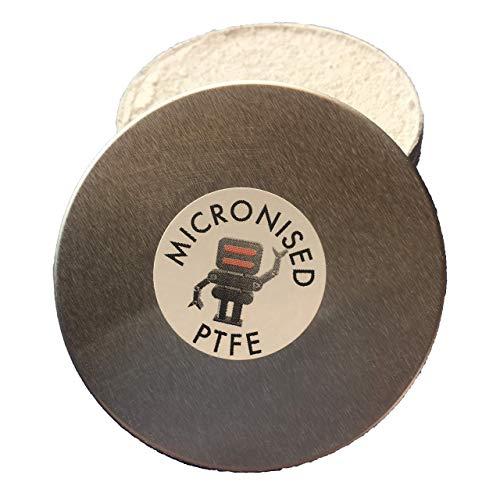 35g / 50ml Mikronisiertes PTFE - Pulverschmiermittel für 3D-Drucker, Klaviere, Radfahren etc. verwenden Sie Pulver direkt oder als Zusatz zu Öl oder Fett für super reibungsarme Reibung.