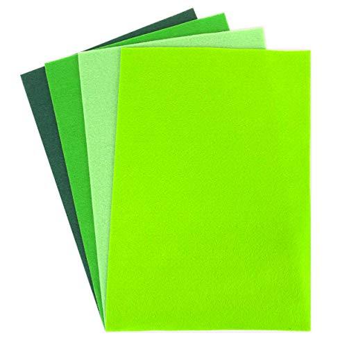 Dovecraft Fogli di Feltro, Verde, Multi Colour, 1