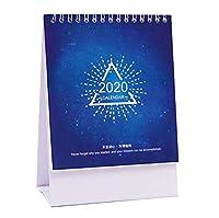 月間/日次スケジュールノートブック2019-2020卓上カレンダー、小カレンダー、J03
