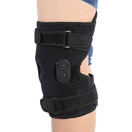 Greeflu Kniebandage, frei verstellbare Knieschützer Open-Patella Compression Kniebandage für Männer und Frauen
