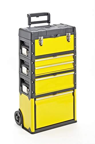 Werkzeugtrolley, 4-fach 1k.1.2.1 gelb