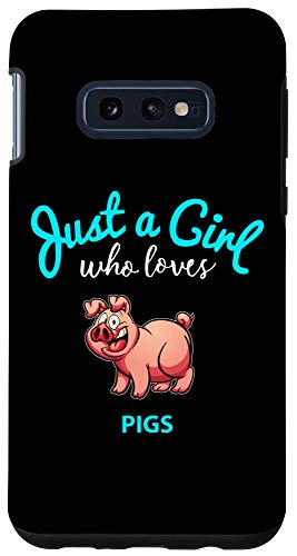 Galaxy S10e Girls Pig Phone Case