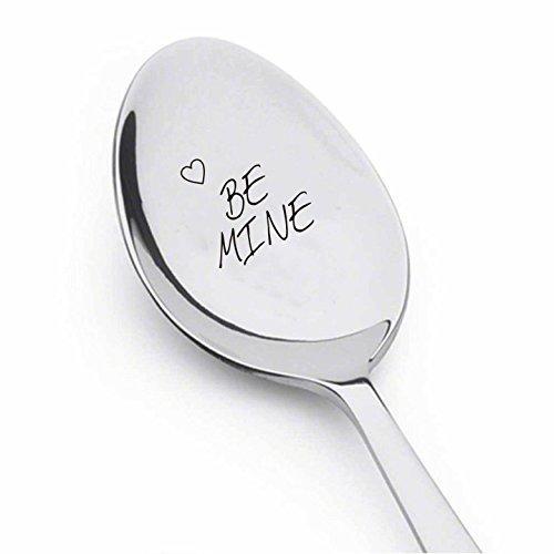 Boston Creative company Be Mine con corazón–Regalo Inspirador–Cuchara de Mejor Venta de Tema–Regalo para él–Regalo para Ella–Regalo