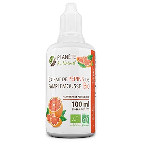 Extrait de Pépins de Pamplemousse Bio 800mg - 100ml - (EPP)