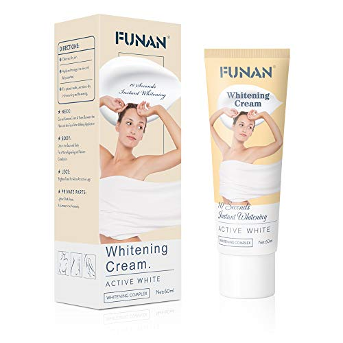 Funan Body Cream Underarm Cream for Amipit, Knees, Elbows and Private Parts 1 Bottle 60 ml