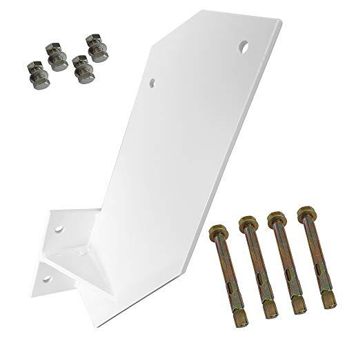 Nemaxx Dachsparrenhalterung in weiß (4stk Schraubenset) VKM Markisen