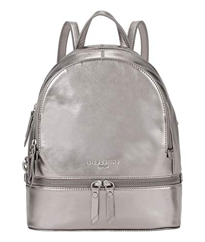 Liebeskind Berlin Rucksackhandtasche, Alita Backpack, Medium, warm metal