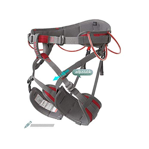 zvcv Climbing Harness, Tree Climbing Gear, Thicken Rock Climbing Harness For Men Women, Rappelling Gear, Safety Harness