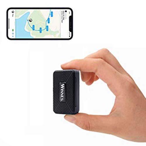 Rastreador GPS de Alta sensibilidad, Impermeable, localizador GPS Integrado, batería de 1500 mAh, función de posicionamiento multimodo para los Coches y los Ancianos