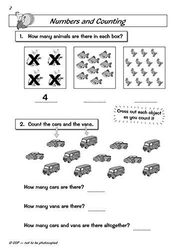 Reception Maths Workout (CGP Reception)