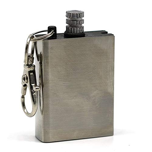 ghfcffdghrdshdfh Portable Iron Flint Fire Starter Matches Portable Bottle Shaped Survival Tool