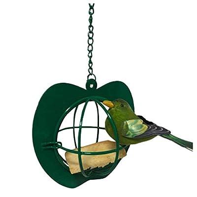 Bird Feeder Hanging Clearance Sales, Hexagon Shaped with Roof Bird Feeder Hanging Garden Yard Decoration