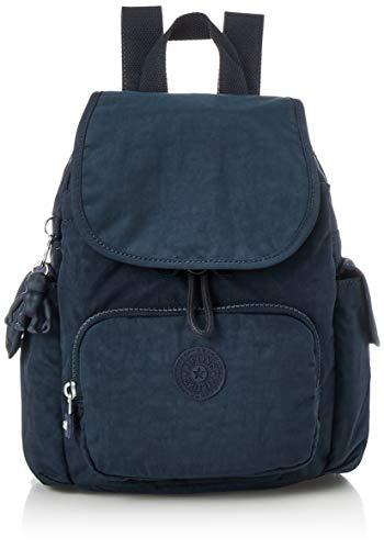 Kipling Damen City Pack Mini Backpacks, Blau Bleu 2, 14x27x29 cm