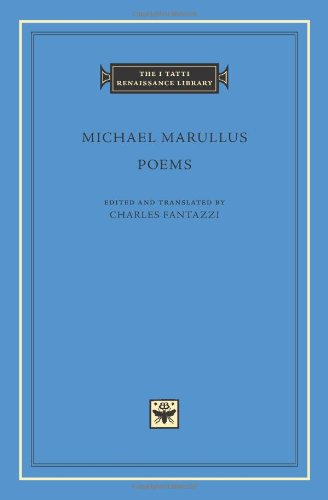 Poems (I Tatti Renaissance Library, Band 54)