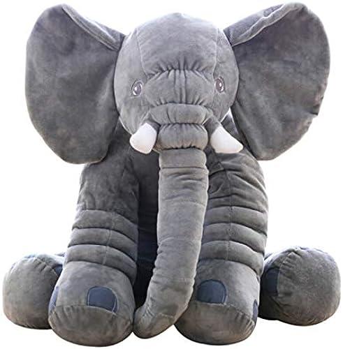 los últimos modelos NOWPST NOWPST NOWPST Dibujos Aniñaños De Peluche Suave Suave Juguete Creativo Lindo Elefante Regaño Hogar Dormitorio Almohada Cojín muñeca Longitud 60 Cm  popular