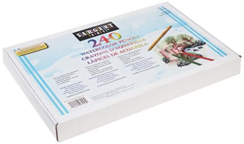 Sargent Art 240-Count Watercolor Pencil Class Pack, Best Buy Assortment, 22-7253