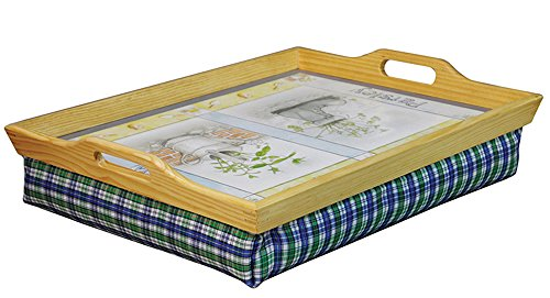 Aidapt Wooden Lap Tray with Cushion (Eligible for VAT relief in the UK)