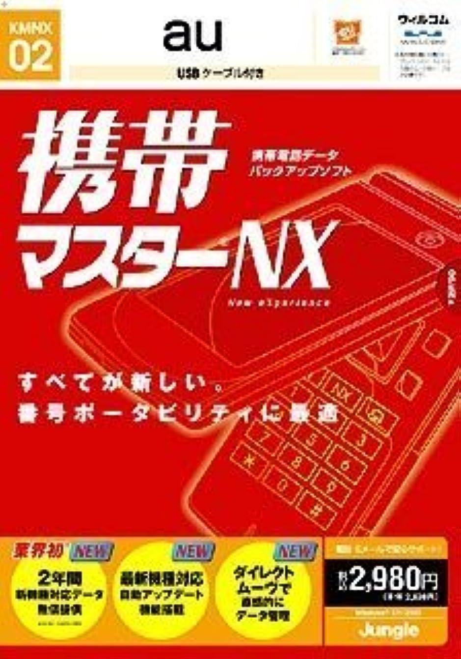 若者デモンストレーション贈り物携帯マスターNX au用