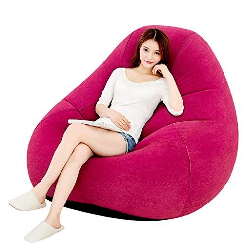 Chaise Gonflable Chaise Pliante Design Lounge Chair Imperméable à l'eau et aux fuites d'air Convient pour Toutes Les Occasions Randonnée pédestre, Voyage, Plage