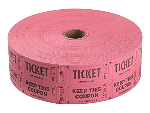 Staples 196972 Double Ticket Roll 2000/Roll (19163)