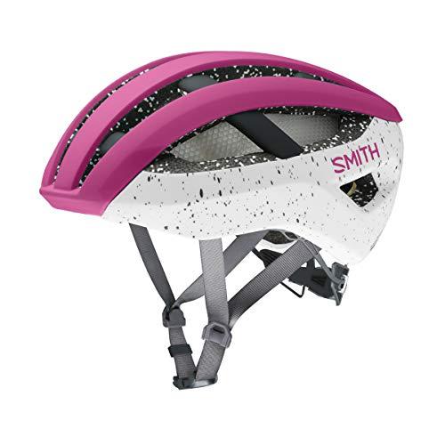Smith Network MIPS fietshelm volwassenen unisex mat Berry Vapor, M
