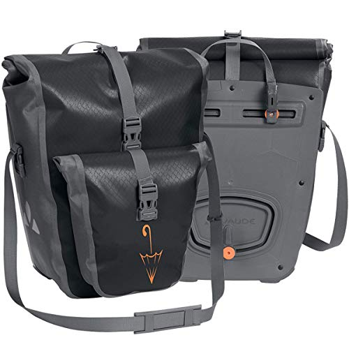 VAUDE Aqua Back Plus Hinterradtaschen (Black SE, Einheitsgröße)